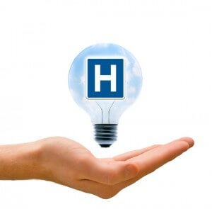 hospital lightbulb