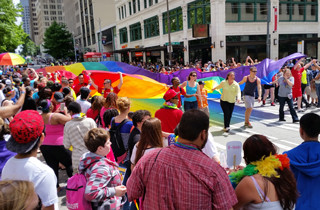 Community Leaders, Healthcare Providers at Seattle PrideFest 2014