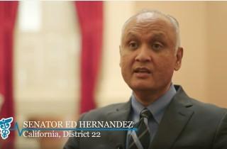 What They're Watching: CA Senator Ed Hernandez (D-22)