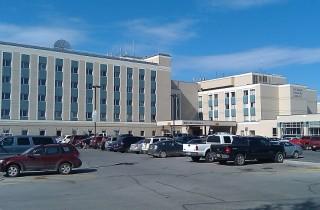 Shelley Ebenal gives an update on Fairbanks Community Hospital Foundation negotiations