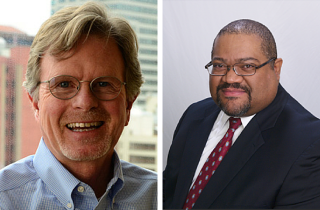 CareOregon interim CEO Scott Clement welcomes new CEO Eric Hunter