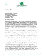 Washington Gov. Inslee's   Letter to US Veterans Affairs Sec. McDonaldDownload (PDF)
