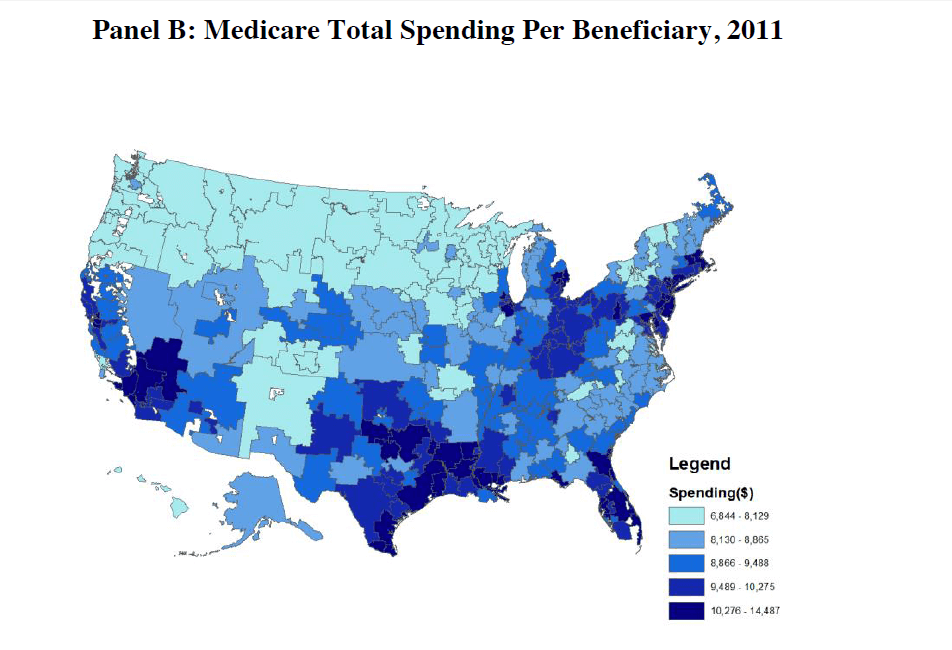 claims data- medicare spend