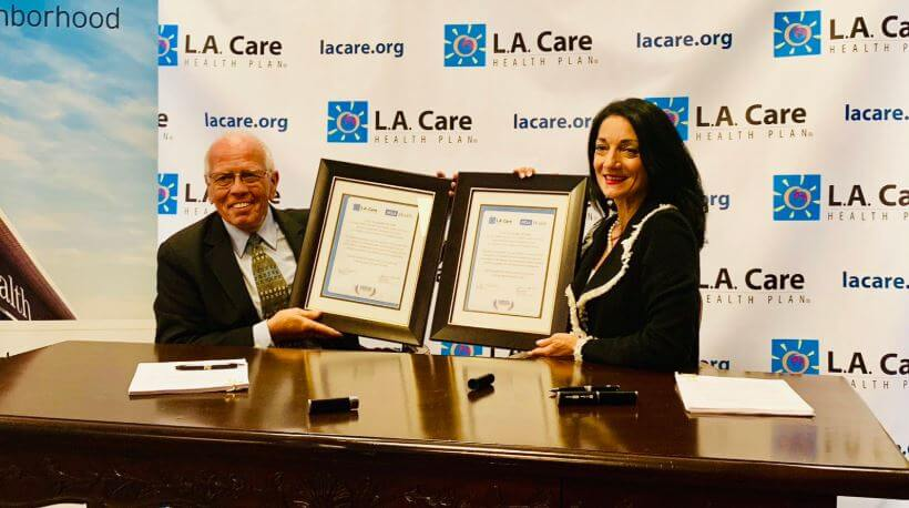 L A  Care and UCLA Health announce agreement to serve Medi